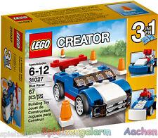 LEGO 31027 CREATOR 3in1 Blauer Rennwagen Buggy Räumschild Blue Racer Snowplow