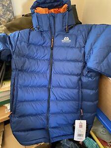 Mountain Equipment Mens Lightline Down Jacket Cobalt Blue, Size Medium BNWT