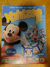 Yahtzee Jr. Disney Mickey Mouse Clubhouse Edition Board Game Complete