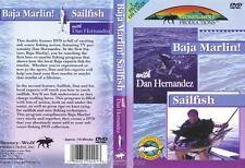 Saltwater Fishing How to Catch Marlin & Sailfish Dan Hernandez 2 Films 1 DVD NEW