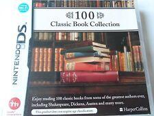 100 Classic Book Collection (Nintendo DS, 2008) - European Version