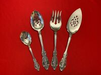 SILVER ARTISTRY Oneida Community Silverplate Set of 4 SERVING PIECES 1965