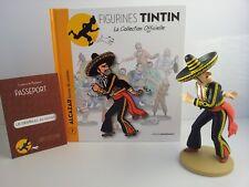 Figurines TINTIN - OFFICIAL COLLECTION - ALCAZAR LANCEUR DE COUTEAU  Q-0018