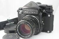 [ NEAR MINT++]  Pentax 6x7 67 TTL Mirror Up w/ SMC Takumar 105mm f2.4 from Japan