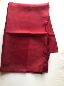 0.75M Vintage Red Lining Fabric