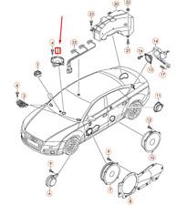 AUDI A6 C7 Front Center Dashboard Loudspeaker 4G0035825 NEW GENUINE