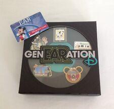 "DISNEY genEARation D PIN EVENT ""DISNEY MUSIC"" BOXED 5 PIN SET - NEW"