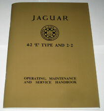 Operating Instructions Handbuch/Owner ´S Manual Jaguar E-Type 4.2/2+2 Series