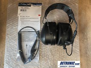 3M Peltor Gehörschutz Flex Headset MT53H79A-11 mit FL6U-63 Kabel für DP4xxx