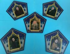 Harry Potter Chocolate Frog Cards Founding Wizards and Dumbledore New