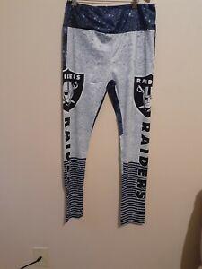 NFL Women's Pants Leggings Oakland Raiders 2X
