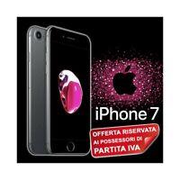 """SMARTPHONE APPLE IPHONE 7 32GB IOS 4,7"""" TOUCH ID IP67 MATT BLACK NERO PER P.IVA-"""