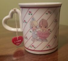 Precious Moments God Is Love Dear Valentine Mug 1986 Enesco