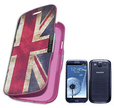FLIP COVER COMPATIBILE X SAMSUNG i9300 GALAXY S3 SIII BANDIERA INGLESE Y