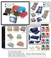100% Cotton Woven Sofa Bed Throw Blanket Bedspread & Settee Cover brand new