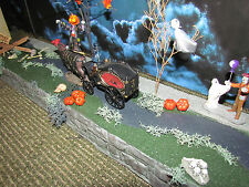HALLOWEEN Village STREET & Sidewalk Display ADD-ON platform base Dept 56 Lemax