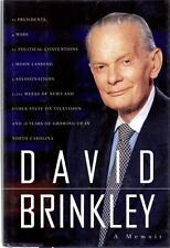 David Brinkley A Memoir NBC News Anchor Huntley-Brinkley 1995 TV Journalism