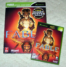 Fable - Game & Official Guide (Xbox, 2005)