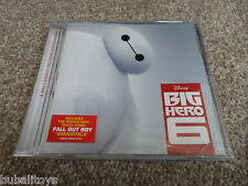 Henry Jackman - Big Hero 6 Soundtrack 20 Tk Walt Disney 2014 CD NEW Fall Out Boy