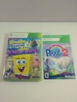 New Sealed SpongeBob SquarePants Planktons Robotic Revenge Peggle 2 Xbox 360