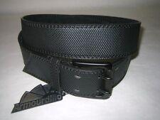 ARMOURDILLO Belt Surplus Knurl Civi Black Split Leather NWT Size XL Unisex