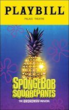Spongebob Squarepants Broadway Musical September 2018 OBC Palace Theatre