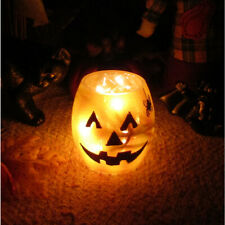 Stony Creek Lighted Glass Pumpkin Jar With Halloween Spider Hol7252