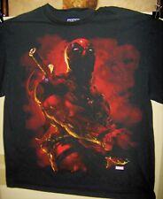 DEADPOOL Dramatic  Pre Worn T-Shirt Marvel Comics Size LARGE Very COOL