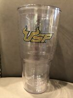 University of South Florida USF Tervis Tumbler 24 oz. Bulls Clear nice