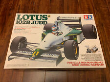 Vintage 1991 Tamiya Lotus 102B Judd #58095 1/10 F1 RC Sealed