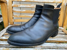 Cole Haan Grand.OS Eddington Black Leather Chelsea Boots Size 10.5 Waterproof