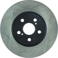 Left StopTech 126.44165SL Sport Slotted Rotor