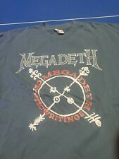 vintage t shirt Megadeth Cryptic Writings '97