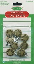 17mm Jeans Buttons ( X 3 Buttons)