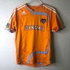 Adidas Houston Dynamo Sz S Soccer Jersey Large Home Training Jersey Signed