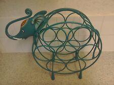 7 bottiglia vino rack in metallo Design Elefante