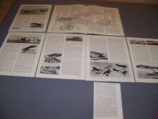 VINTAGE..NIEUPORT-DELAGE 62..HISTORY/CUTAWAY/3-VIEWS/SPECS..RARE! (86J)