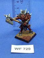 Warhammer Fantasy/40K - Chaos Daemons - Khorne Bloodletter Painted - Metal WF729