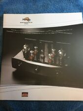 Melody Valve Hifi PTY Ltd. Tube Amplifier Marketing Catalogue RARE!!