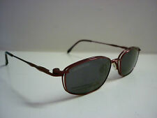 Genuine Designer Glasses Frames By Cool Clip CC825 Clip On Sunglasses in Red 602