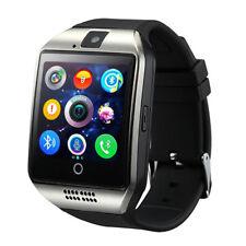 Premium SmartWatch Q18 SILBER Bluetooth Uhr iOS Android Samsung SIM Smart Watch