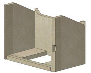 FDC 5i Wide Brick Set - INSET STOVE