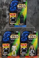 1997 Kenner Star Wars POTF FREEZE FRAME LOT OF 3 Figures  W/ Free Shipping
