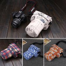 DSLR DLR Camera Padded Bag Canon 700D 800D 77D D5300 Shoulder Bag Canon Nikon