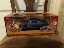 Johnny Lightning Cooter's Ford Mustang Dukes of Hazzard #21957P NRFB Blue 1:18