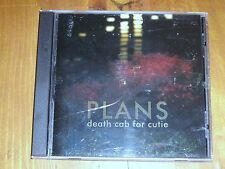 DEATH CAB FOR CUTIE *CD  ' PLANS ' 2005 EXC