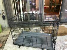 Zen Den. 2 door training crate. Collapsable,