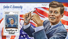 Chad JFK Stamps 2020 MNH John F Kennedy US Presidents Famous People 1v S/S