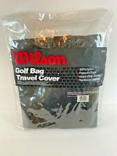 Wilson Deluxe Golf Club Clubs Bag Travel Storage Soft Cover W312