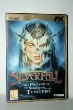 SILVERFALL EDIZIONE ORO GIOCO USATO OTTIMO PC DVD VERSIONE ITALIANA RS2 41087